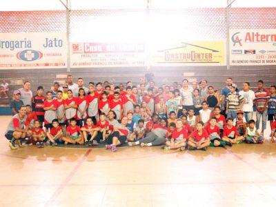 Secretarias de Desenvolvimento Social e de Esportes e Lazer promovem tarde de lazer para crianças atendidas pelos programas sociais