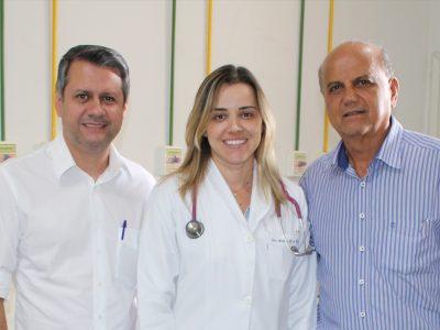 Prefeitura de Santa Vitória contrata mais uma médica especialista para a Unidade Mista de Saúde Jerônimo Teodoro