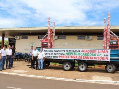 Vereador Joaquim de Lima entrega patrulha mecanizada a Prefeitura de Santa Vitória (3)