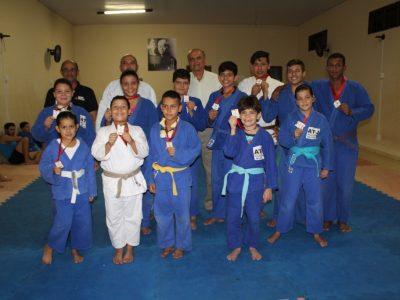 Projeto Judô Geração Atleta de Santa Vitória conquista 12 medalhas na Copa de Judô de Planura (1)