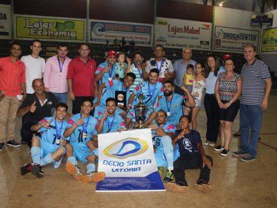 Definidos os campeões das várias categorias da Copa do Comércio de Futsal Santa-vitoriense