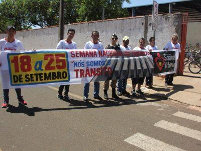 Semana Nacional do Trânsito em Santa Vitória