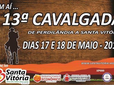 13ª Cavalgada de Perdilândia a Santa Vitória