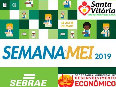 Semana do MEI SEBRAE realiza palestras para quem pretende ser microempreendedor individual em Santa Vitória
