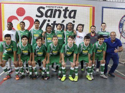 Santa Vitória abre 8 a 1 contra Ituiutaba no primeiro jogo da semifinal da 3ª Copa Pontal do Triângulo Lojas Eduardo de Futsal Infantil