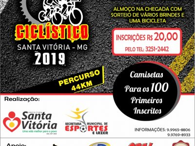 2° Passeio ciclístico de Santa Vitória